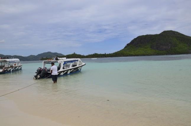 excursion en bateau voyage de noce aux Seychelles