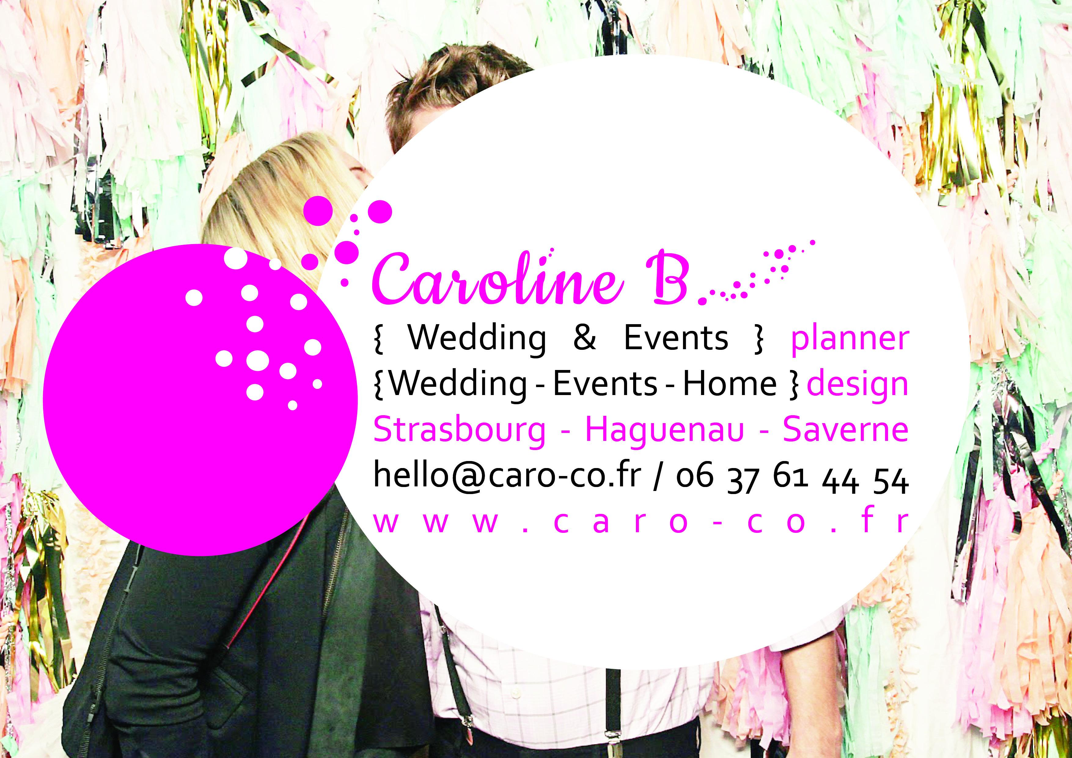 Caro & Co Wedding planner Alsace