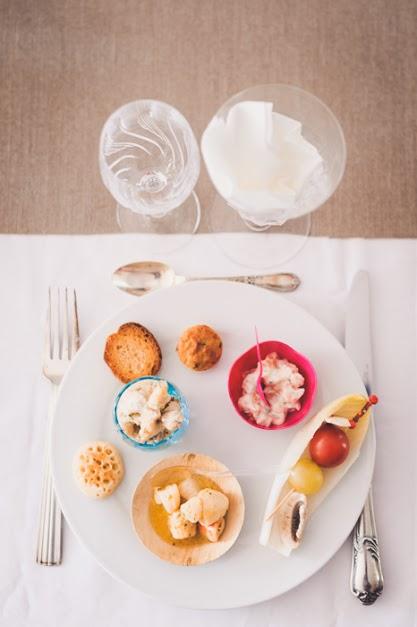 repas réception mariage civil