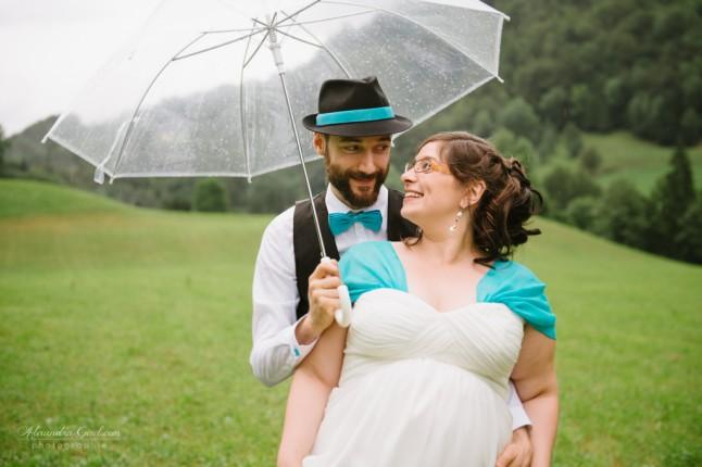 photos de couples parapluie transparent