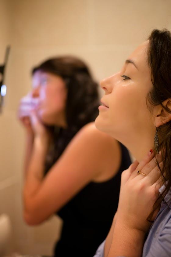Travail du teint maquillage mariée DIY