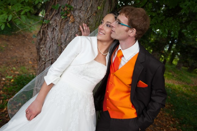 Mariage d'automne traditionnel