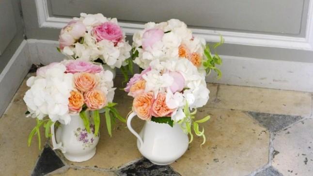 Conseils et id es pour tes centres de table mademoiselle dentelle - Petite composition florale pour table ...