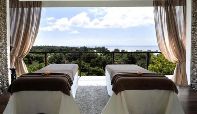 Spa hôtel voyage de noce aux Seychelles