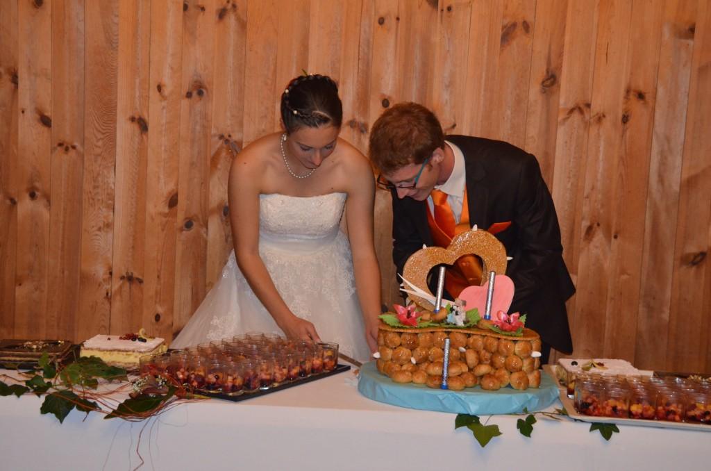 Buffet de desserts mariage traditionnel
