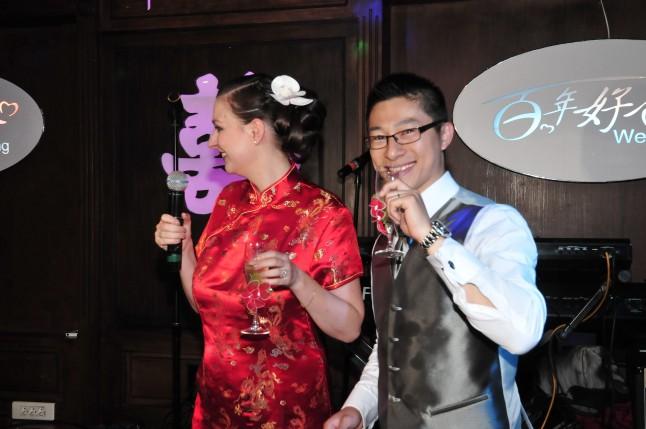 Karaoké mariage traditionnel chinois