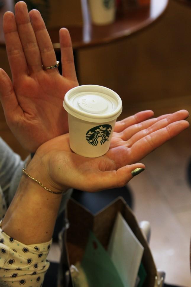 Gobelets confettis mariage Starbucks