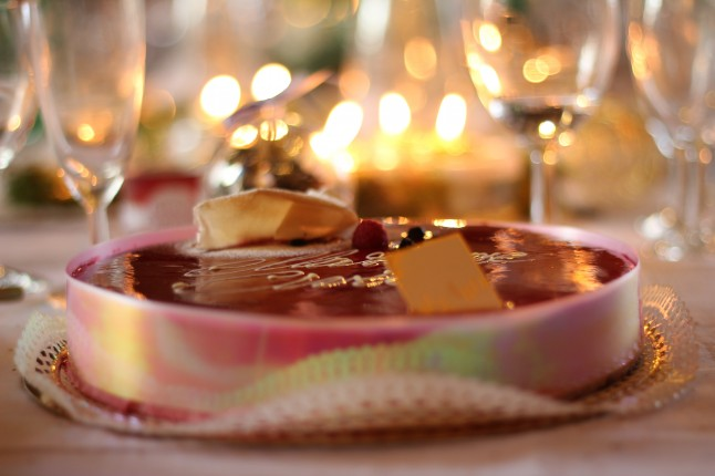 Gâteau de mariage civil