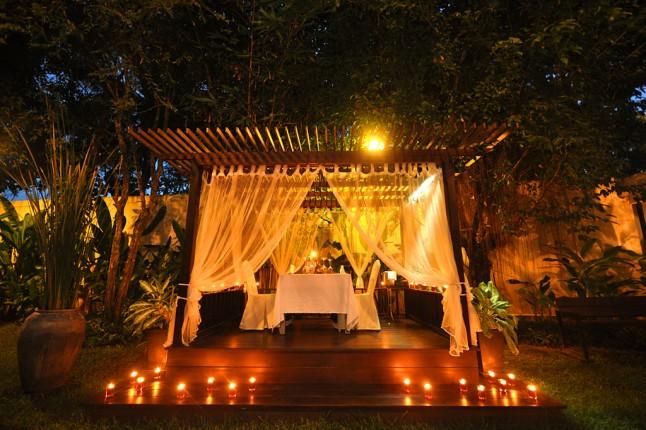 décor de rêve pour demande en mariage romantique
