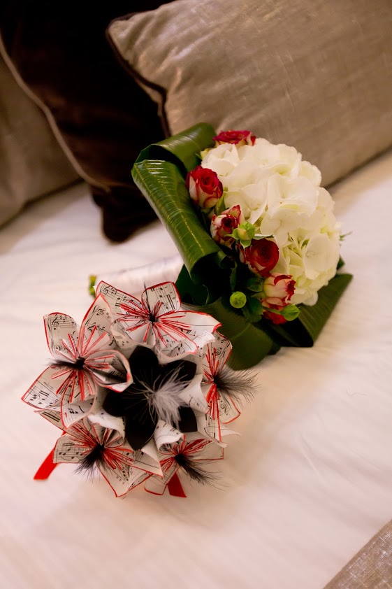 Bouquet à lancer