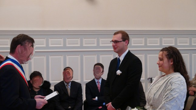 Cérémonie de mariage civil mariage en 2 temps