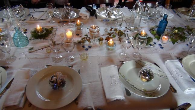 déco de table mariage civil