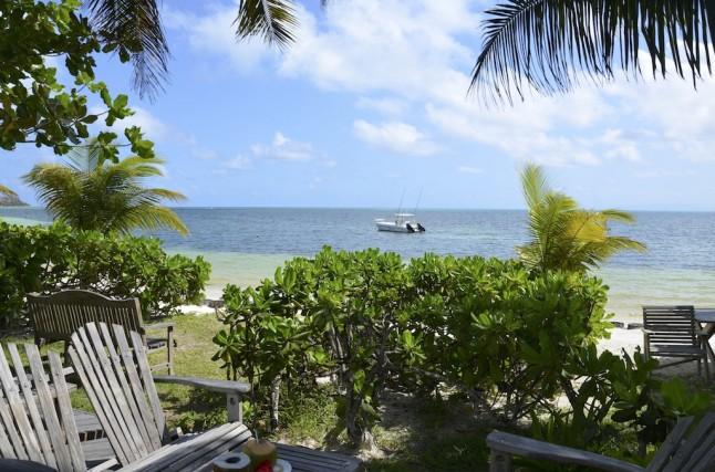 Vue mer hôtel voyage de noce aux Seychelles