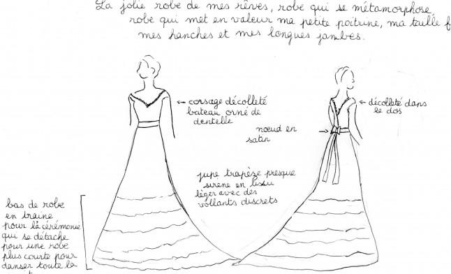 Robe de mariée de rêve