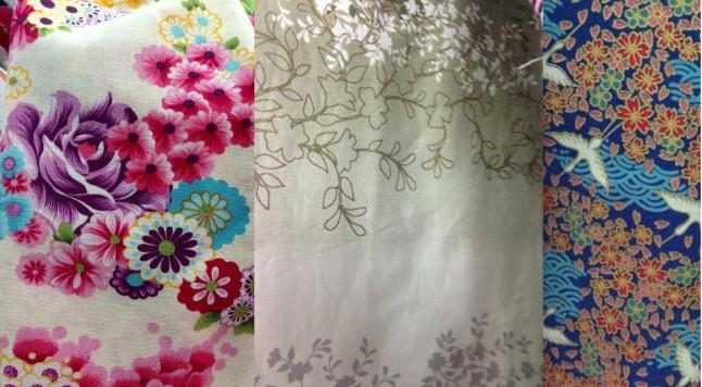 Tissus pour confection kimono de mariée