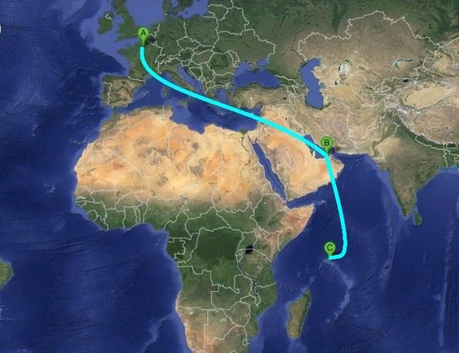 vol Paris Seychelles voyage de noce