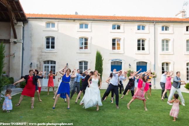 flashmob mariage dehors