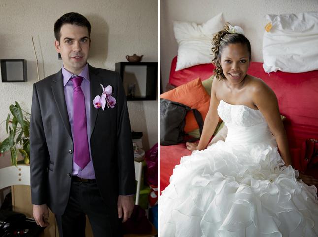 mariage couleurs Indonésie - tenues des mariés