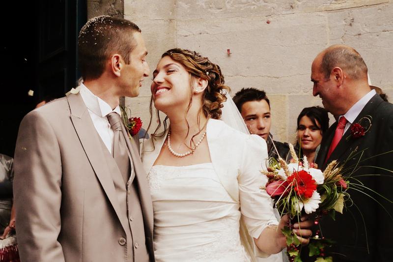 Le mariage champêtre et participatif de Johanna : pluvieux et très heureux !