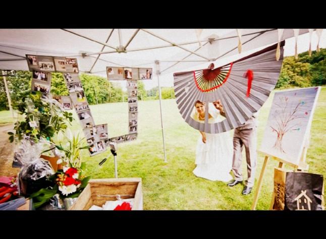 décoration de mariage extérieur