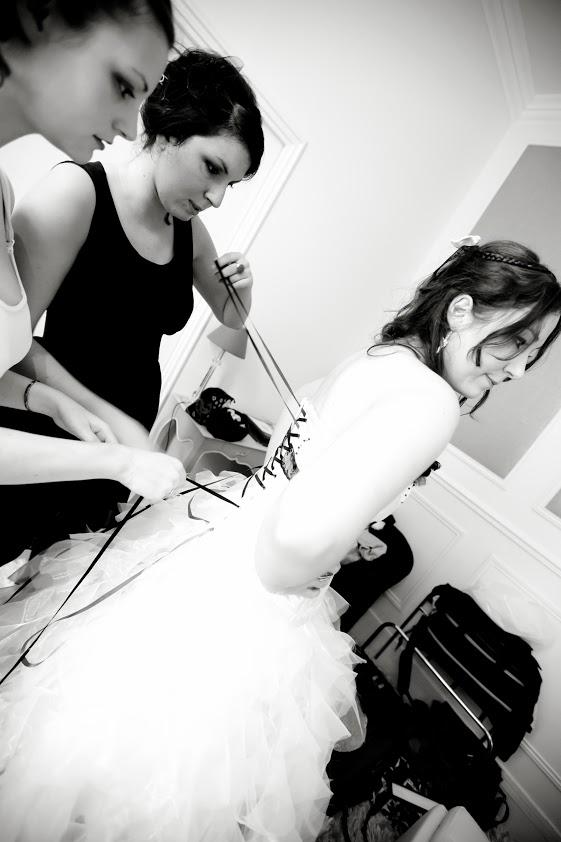 Mon mariage geek automnal : la mariée se prépare…