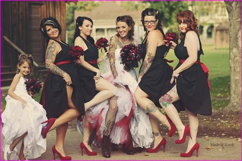 Dress code mariage rockabilly