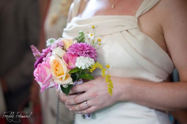 Bouquet de mariée Freddy Frémond
