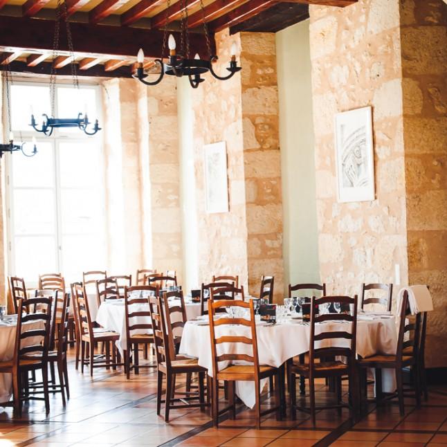 salle réception mariage château gersois