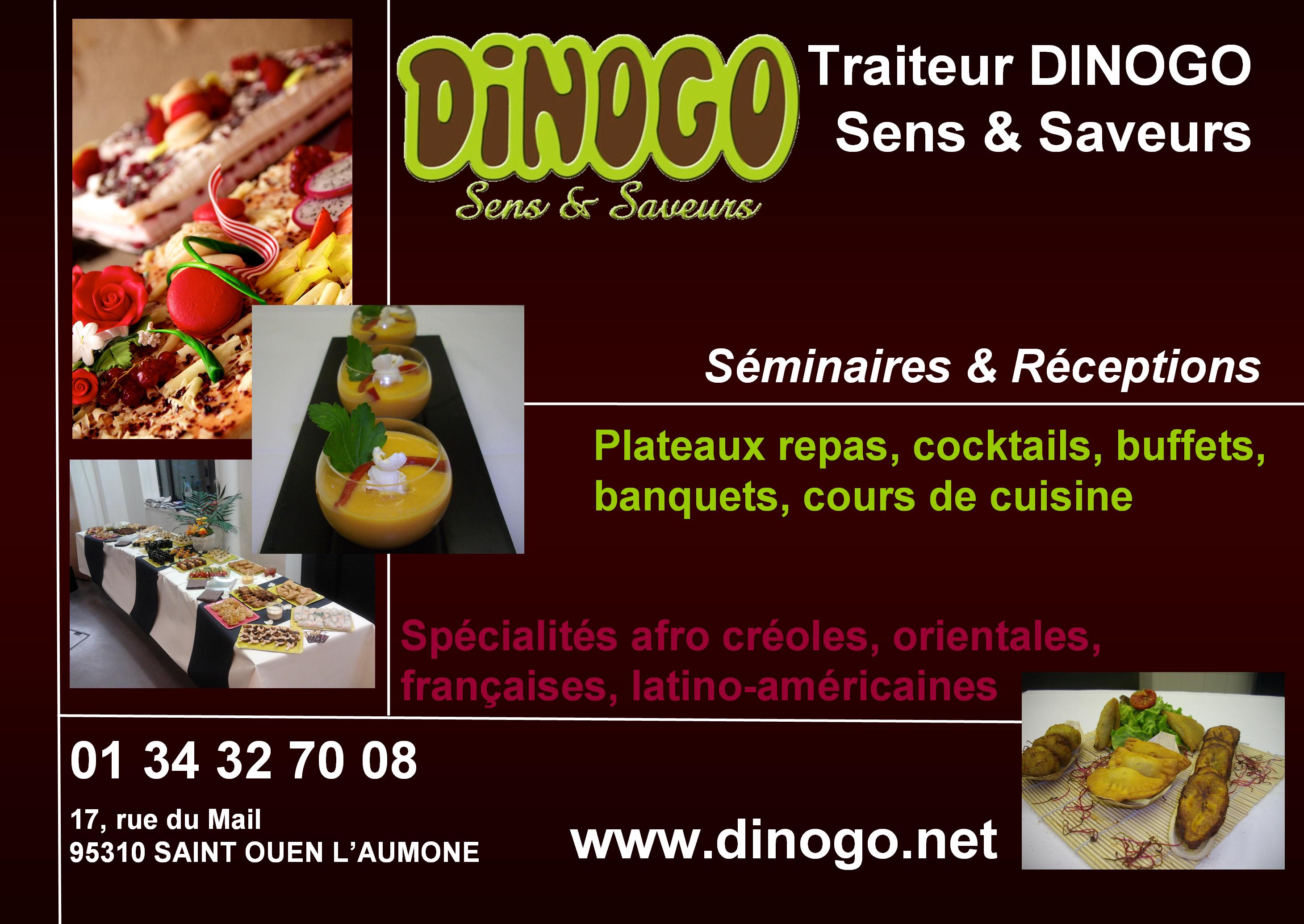 Traiteur DINOGO – Sens & Saveurs