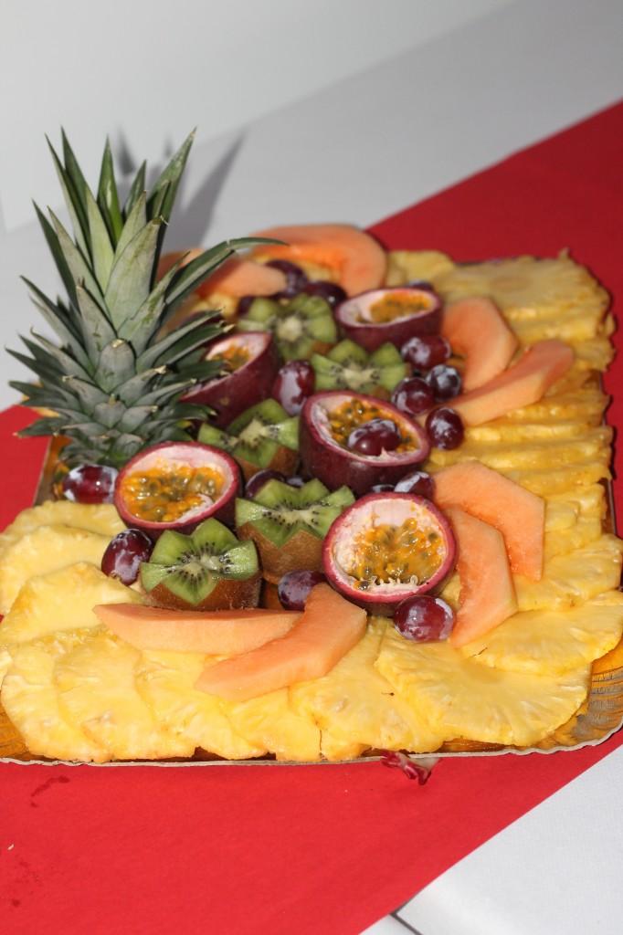 plateau de fruits repas de mariage