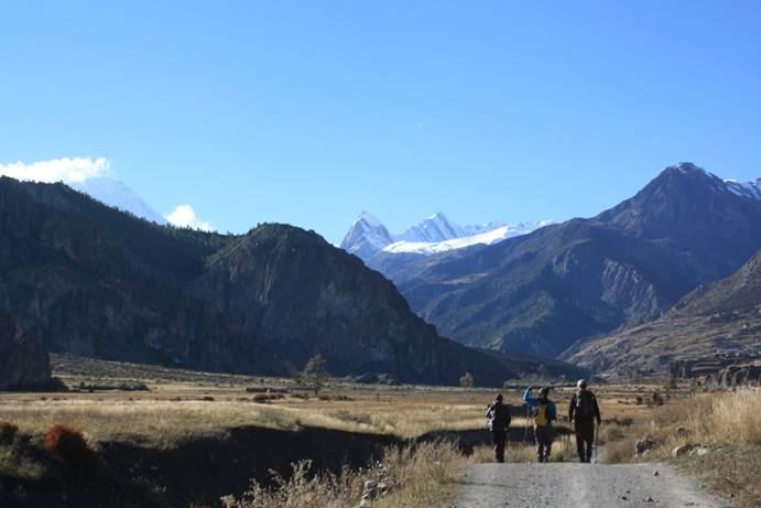 voyage de noce au Népal trekking
