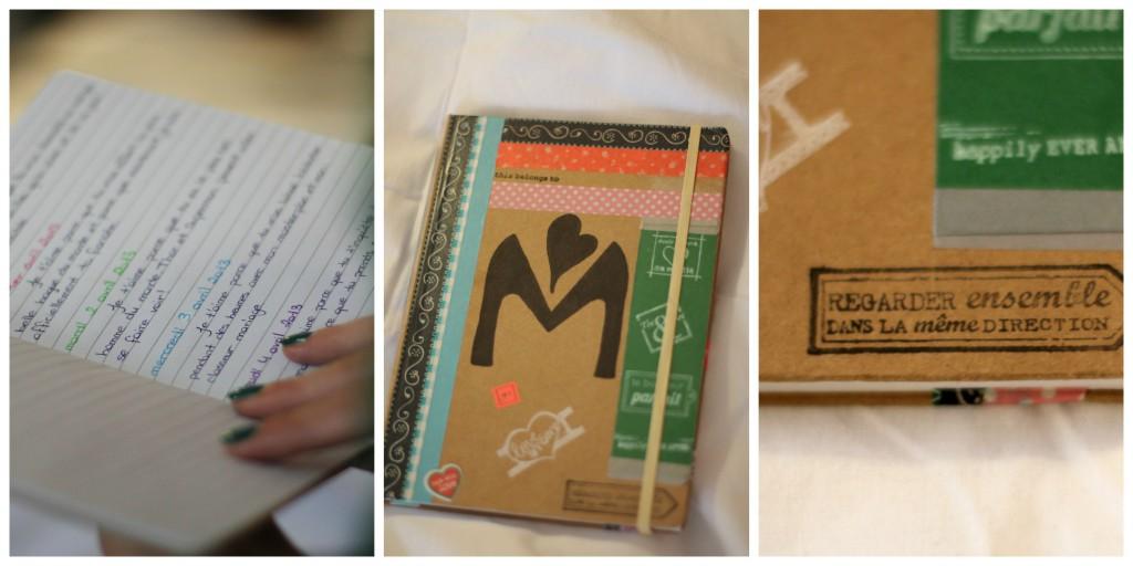 Cadeau livre pour le marié journal intime