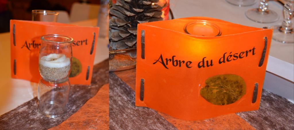 Photophores DIY mariage automne