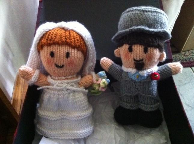 mariés en tricot