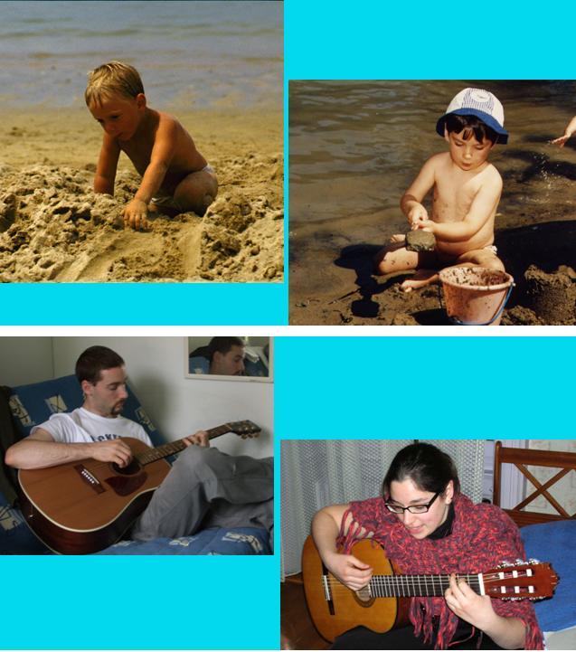 power point photos d'enfance et de jeunesse
