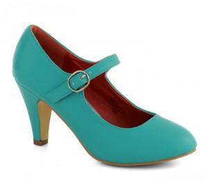 Chaussures mariée grande taille Modcloth