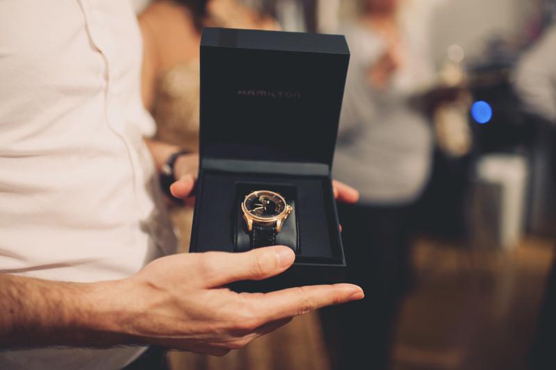 cadeau au marié montre
