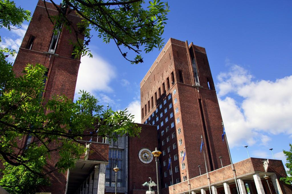 hôtel de ville d'Oslo