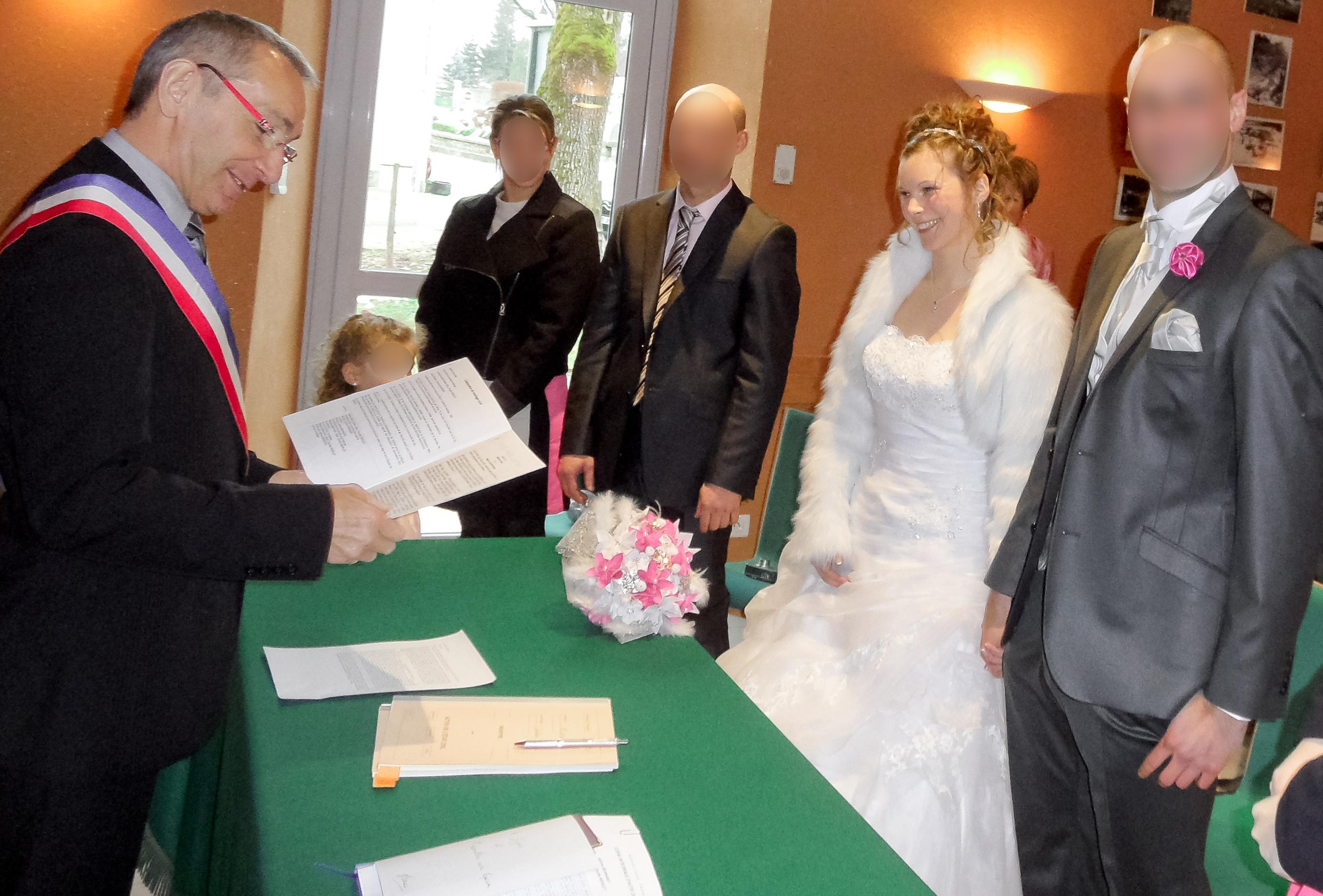 Mon mariage enneigé : la mairie