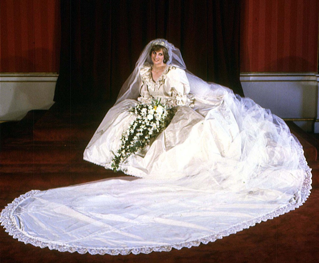 robe de mariée Lady Diana