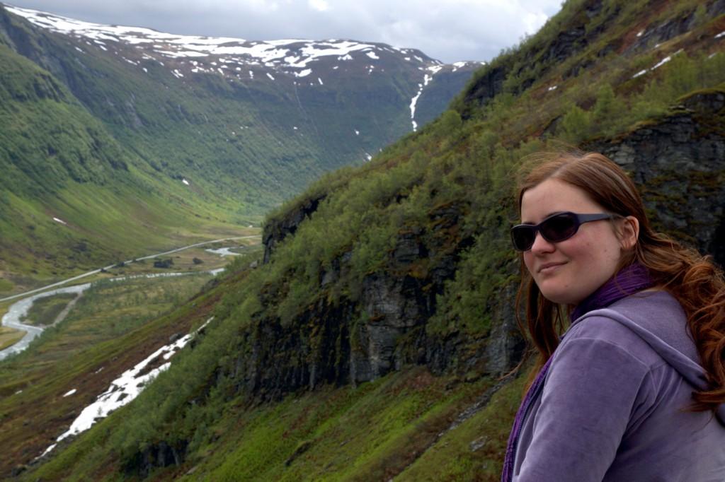 sur la route de Sogndal à Bergen