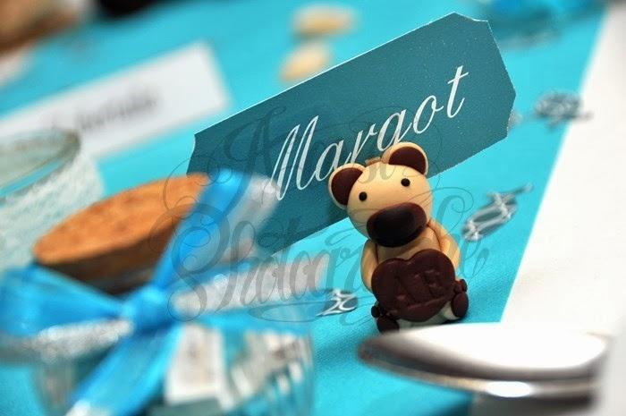 Mariage original sur le thème des ours geek