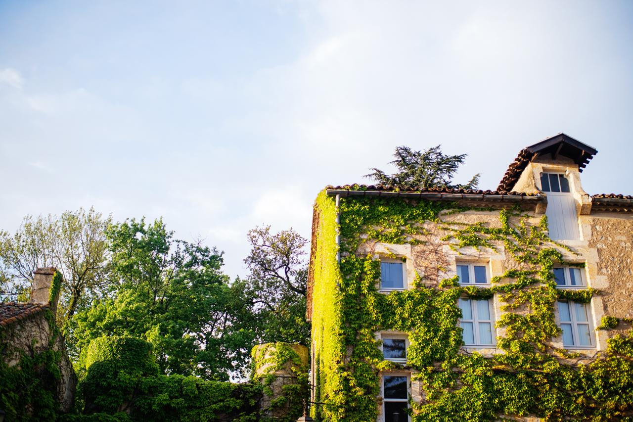 Mon mariage champêtre et botanique : le goûter d'honneur et la soirée au château