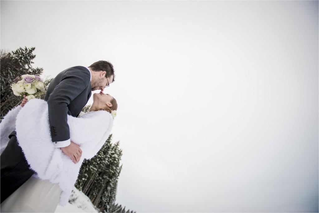 Mon mariage d'hiver au pied du Mont-Blanc