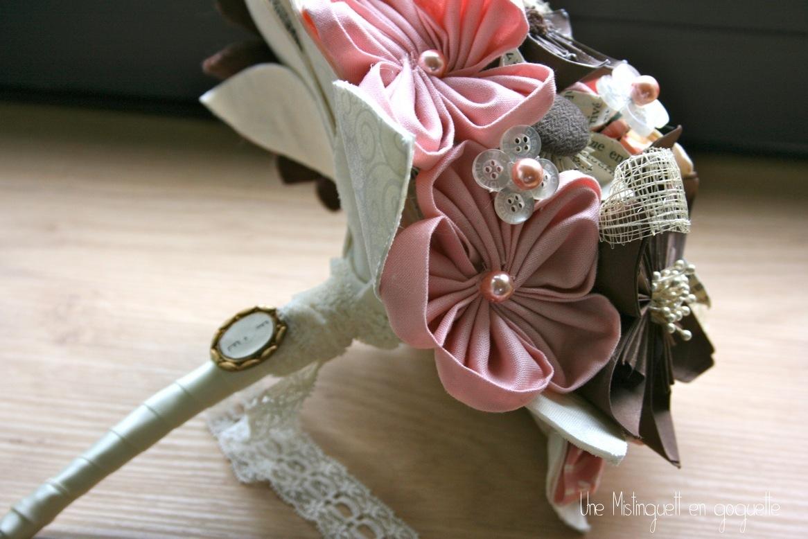 Gagne ton bouquet de mariée personnalisé  : les résultats du concours avec une Mistinguett en goguette