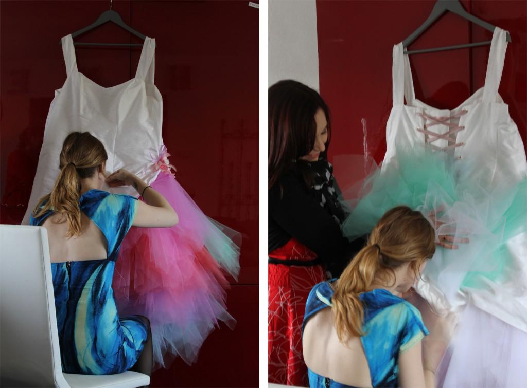 La robe de mon  mariage retour en enfance