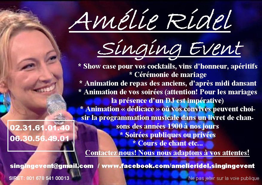 Amélie Ridel – Singing Event