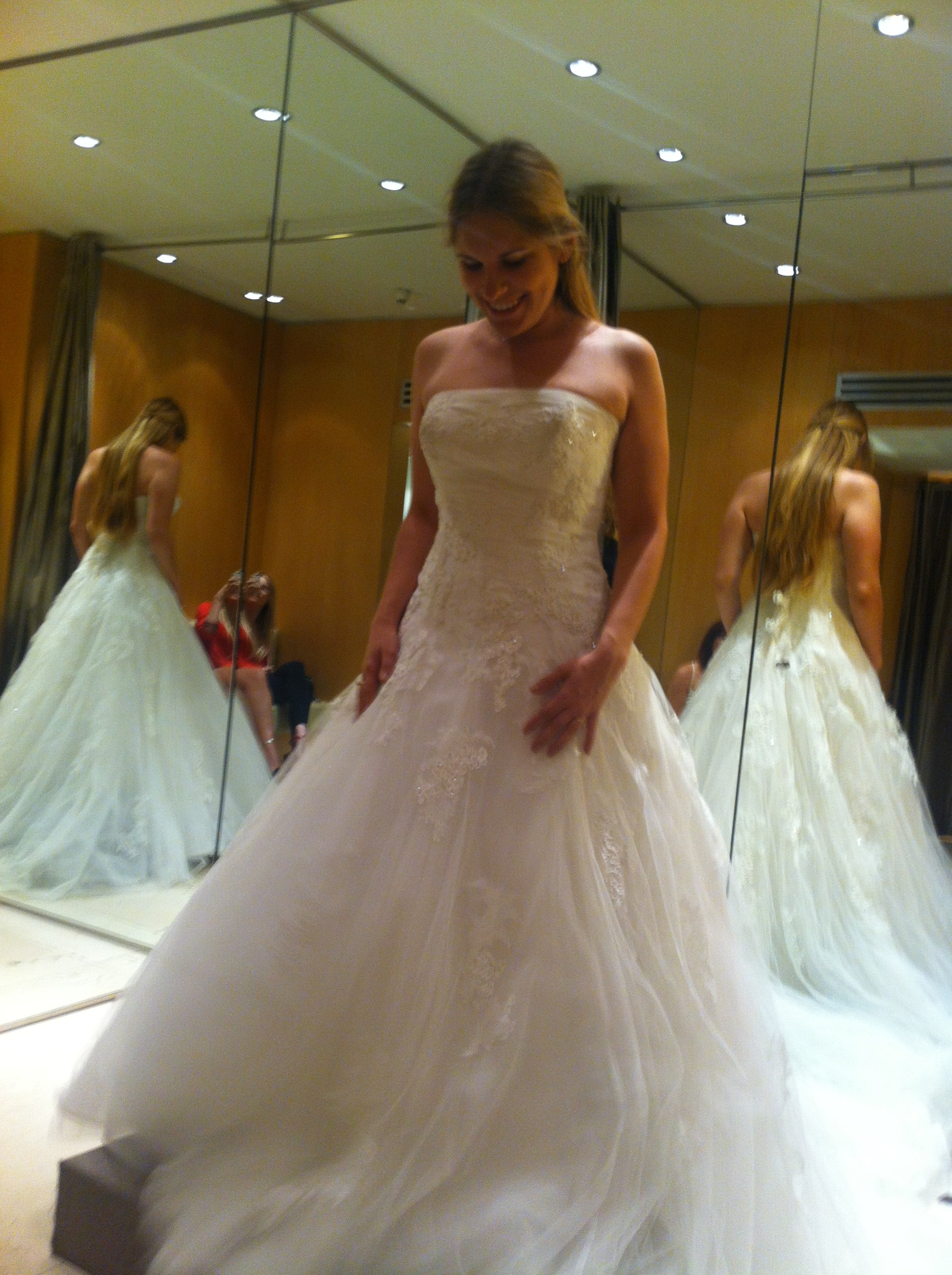 A la recherche de ma robe de mariée