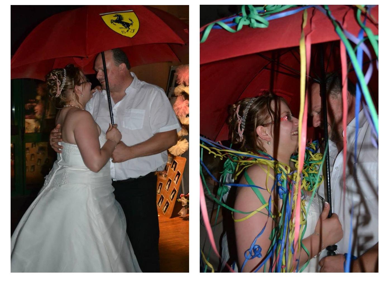 Les animations de notre mariage tout en douceur : l'ombrelle