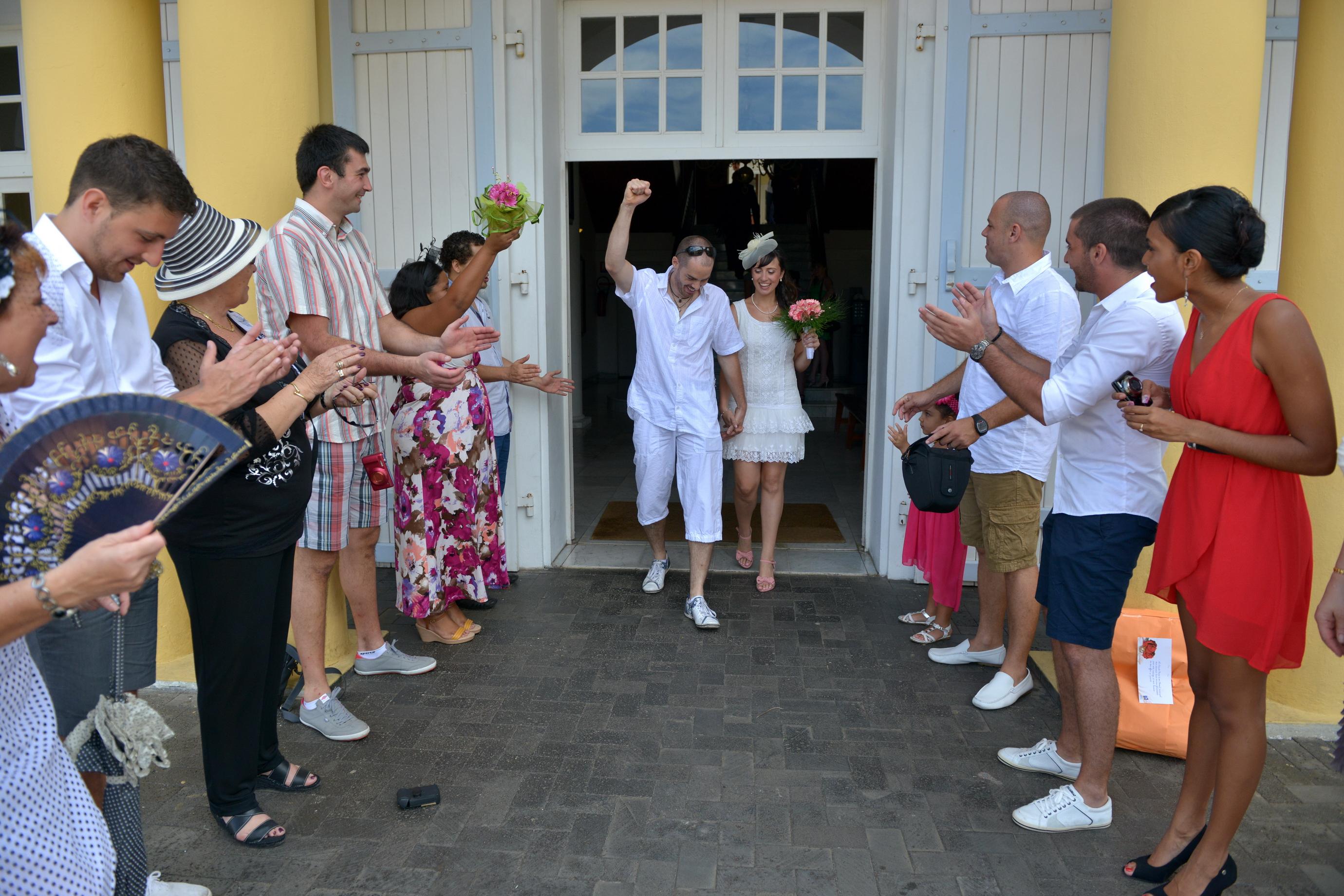 Mon mariage civil à La Réunion : la cérémonie à la mairie